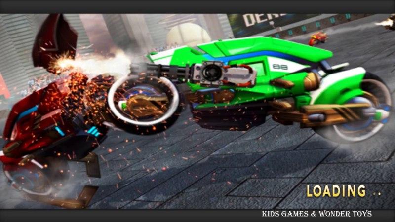 Demolition Derby|Future Bike Wars|bike wars simulator|attack motorbike rivals|derby robot bike HD5