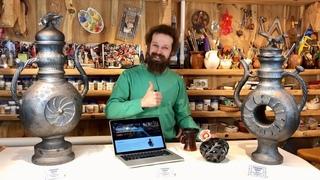 🍯 ГОНЧАРНЫЙ КУРС: Как овладеть Гончарным Мастерством по видео? Гончарная школа Волшебство керамики