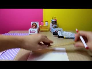 Как быстро и легко сделать кровать для куклы LOL Surprise diy