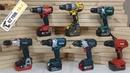Brushless 18V Hammer Drill Fight - Milwaukee, Makita, Dewalt, Bosch, Hilti, Hitachi Metabo
