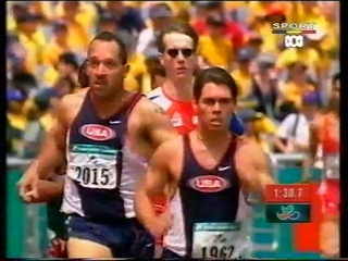 Sydney 2000 Paralympic Games - Mens T44 800m Final