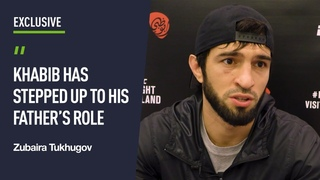 'Abdulmanap always shared his experience with us, now it's Khabib' — Zubaira Tukhugov