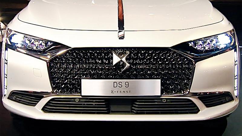 DS9 2021 French Luxury Sedan FIRST LOOK Geneva Car Show 2020
