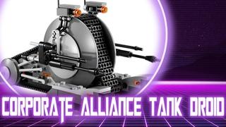 Обзор на лего звёздные войны Corporate Alliance Tank Droid / Lego Star Wars 75015