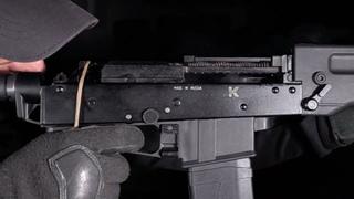 Kalashnikov SR-1 slow-mo   Action Replay