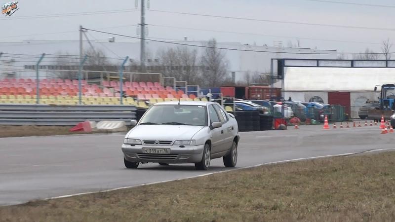 Citroen Xantia Алексей Миронов Winter IronRacer 2020