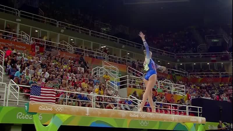 Sanne Wevers 2016 Olympics QF BB online video
