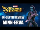 Minn Erva In Depth Review Marvel Strike Force