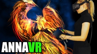 Phoenix painted in virtual reality with Tilt Brush