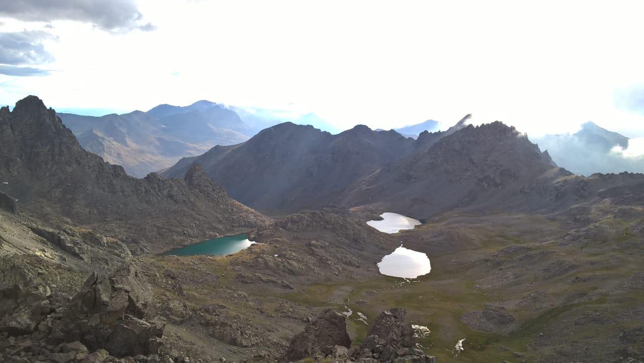 В горах Качкар много озёр
