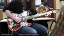 Pinup Girl Gil T-Top Polymer Guitar Demo. Tim vs ZenDrive vs OCD. Walla Walla Guitar Company