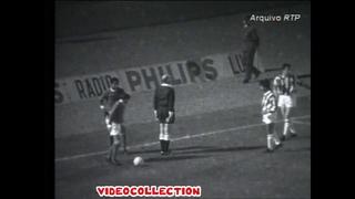 1967/68  Benfica - Juventus  2-0   (European cup 1/2 fin)
