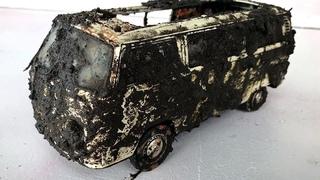 Restaurando uma Kombi - VW  VOLKSWAGEN KOMBI