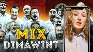 ДИСС на @dimawint | MIX: DIMAWINT (как кошачья волосня, лезет либерасня :) | by @ДИВАННЫЕ ВОЙСКА