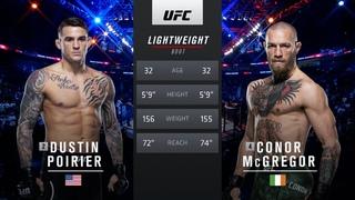 UFC 264 Free Fight: Dustin Poirier vs Conor McGregor 2