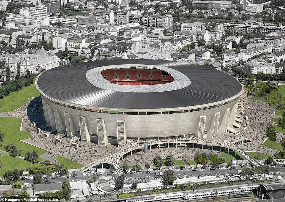 "Новый стадион ""Ференц Пушкаш"" в Будапеште"