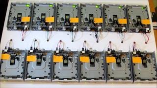 Floppy Disks - Marble Machine - Wintergatan