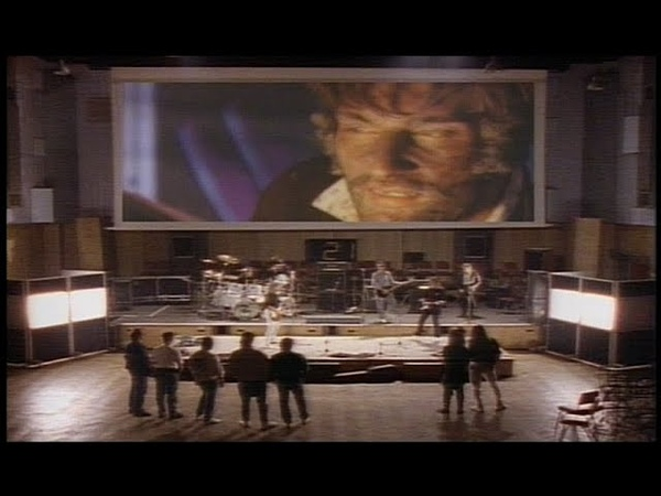 Phenomena featuring John Wetton Did It All For Love 80s music video