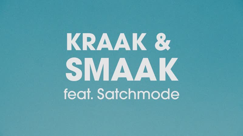 Kraak Smaak Don't Want This To Be Over feat Satchmode mp4