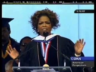 Oprah Winfrey: University Commencement Address (2007 Speech to College Students)