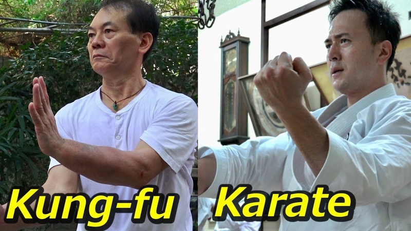 時を超える?中国武術と空手に同じ型があった!Time travel? Same Kata in Karate and Kungfu!