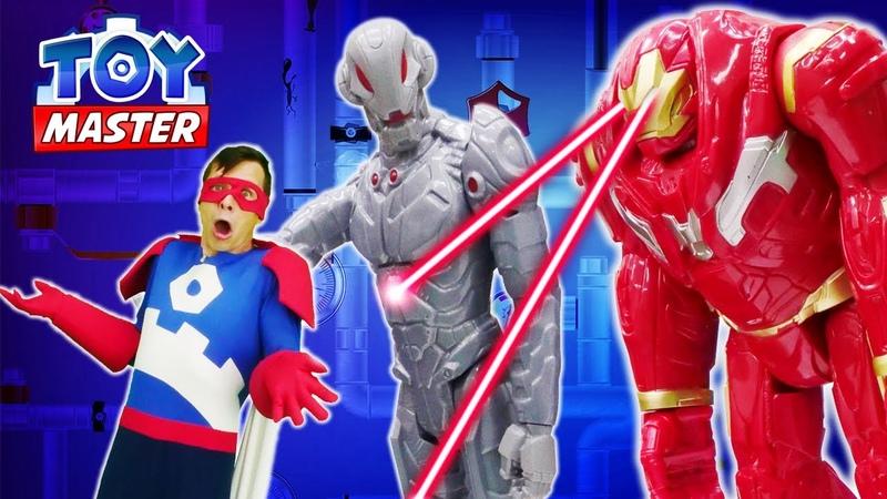 Новые игры Железный Человек злой клон Альтрон против Супергероев Онлайн видео шоу Той Мастер