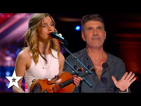 Her Voice STOPPED Simon Cowell From Pressing The RED BUZZER Got Talent Global