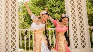 Упражнения для развития пластики рук в Узбекском танце. Урок узбекского танца.