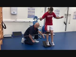 Реабилитация при травмированном голеностопном суставе