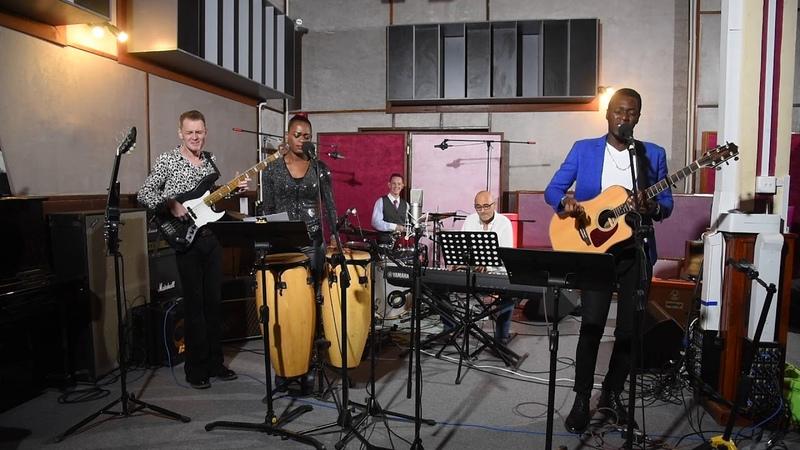 Princess Netashiva feat Benji Kasule and Soma jazz band Treasure Bruno Mars cover