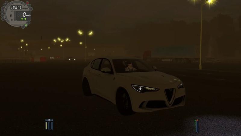 City Car Driving 1.5.8 - Alfa Romeo Stelvio Quadrifoglio l High Speed Driving | 60 FPS 1440p