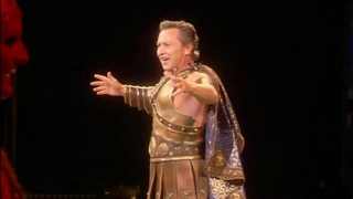 Michael Flatley Performs Dancing in the Dark with Celtic Tiger