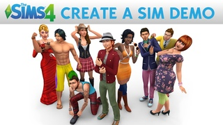 The Sims 4: Create A Sim Demo Official Gameplay Trailer