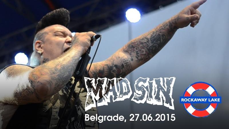MAD SIN Live in Belgrade ROCKAWAY LAKE Festival 27 06 2015