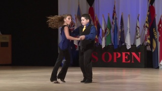 2014 Young America Champions - Nathan Frazier & Lauren Glaub - US Open