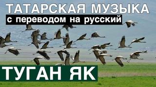 Татарские песни С ПЕРЕВОДОМ НА РУССКИЙ I ТУГАН ЯК / РОДИМЫЙ КРАЙ