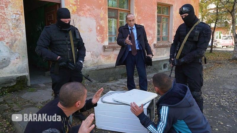 Виталий Наливкин ловит грабителей