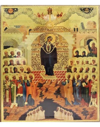 Икона покров пресвятой богородицы фото и значение фото