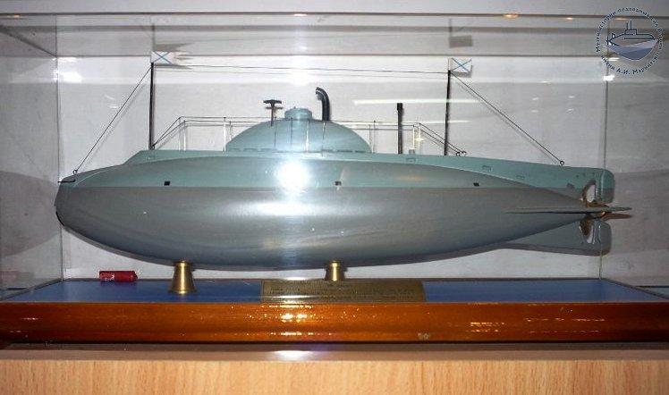 Модель подводной лодки «Сом». Из собрания Музея истории подводных сил России им. А.И. Маринеско.
