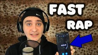 +100500 Слов в Минуту ll Fast Rap +100500 Words in 1 Minute