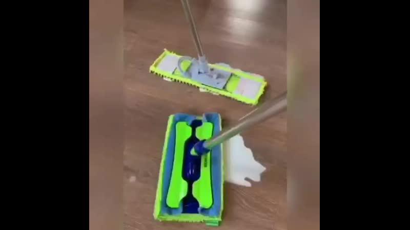 Универсальная швабра с двумя насадками AQUAmatic MOP для уборки дома🍀