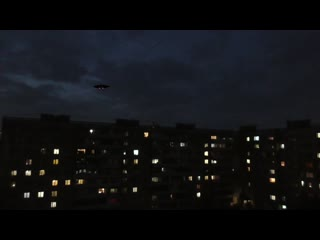 Real Russian video about UFO, country Russia, 2020