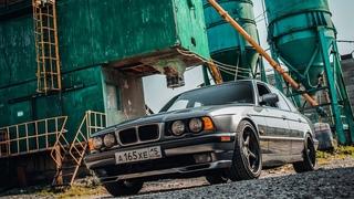 """BMW 540i E34 """"Monza"""" - готовим тачку к сезону: м-стиль, койловеры, хела и т.д."""