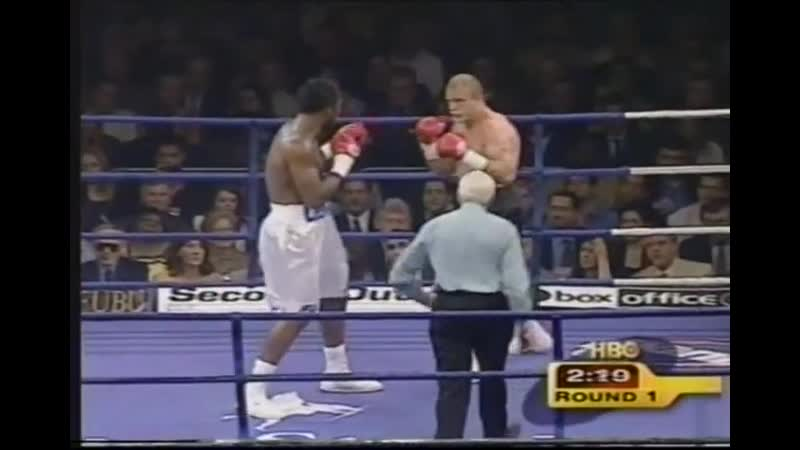 Lennox Lewis vs Frans Botha HBO World Championship Boxing July 15 2000