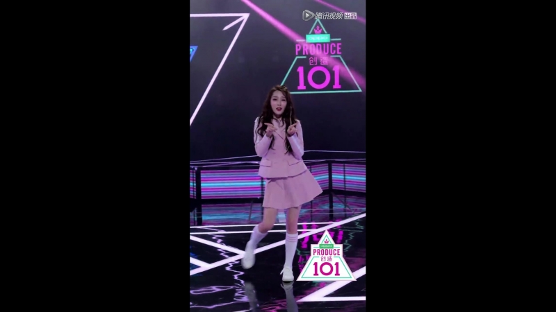 Produce 101 China 180425 индивидуальный фокус на 'Pick Me Up' Цзян Цзинэр