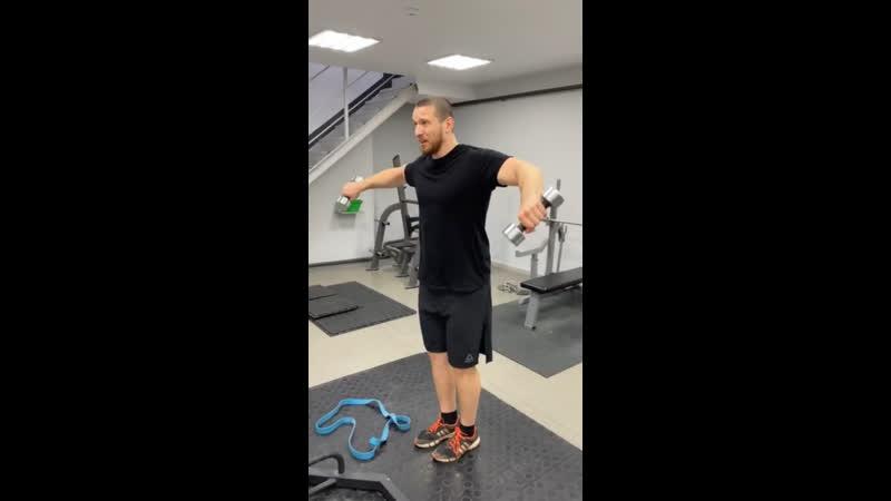 Тренировка с бойцом MMA