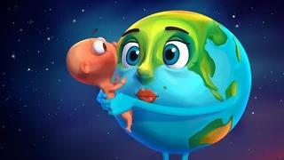 """""""Человек и земля"""". Экологический мультик . Познавательное видео. Природа."""