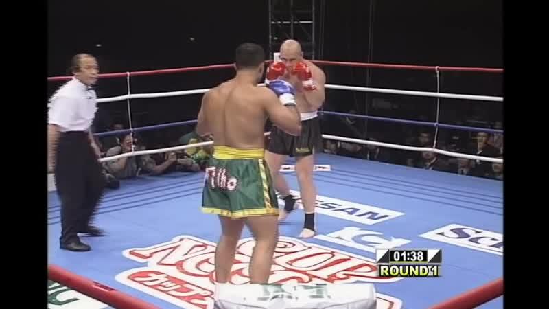 08 1998 12 13 Francisco Filho vs Mike Bernardo K 1 Grand Prix 98 Final Round Quarter Finals