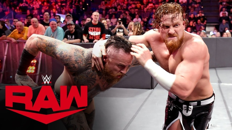 Aleister Black vs. Buddy Murphy Raw, Jan. 13, 2020