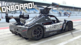 Radical RXC Turbo 500 Street-Legal Chasing Audi R8 GT3 at Monza! - OnBoard Best Lap